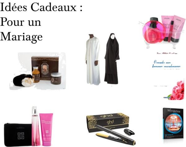 idées cadeaux mariage musulman